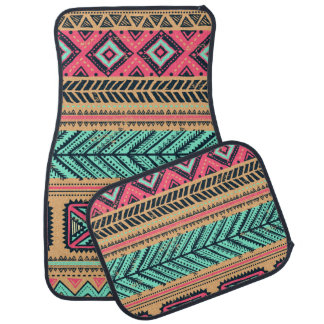 African Pattern Style Car Mat