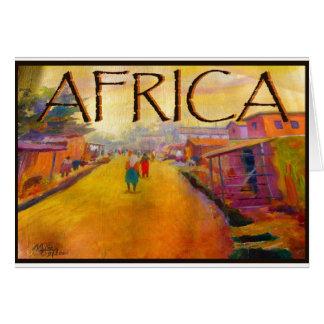 AFRICAN PEOPLE BY MOJISOLA A GBADAMOSI -OKUBULE CARD