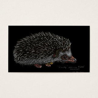 AFRICAN PIGMY HEDGEHOG BUSINESS CARD