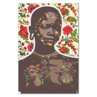 African Pop Art Tissue Paper