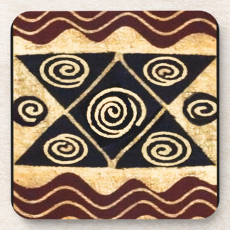 African Primordial Decor Coaster