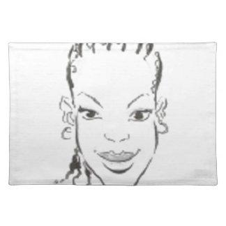 African Princess Placemats