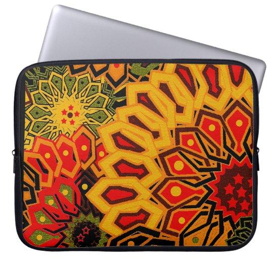 african print laptop sleeve