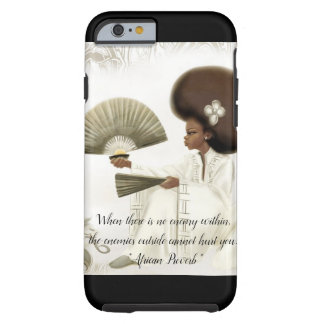 African Proverb Cell Phone Case