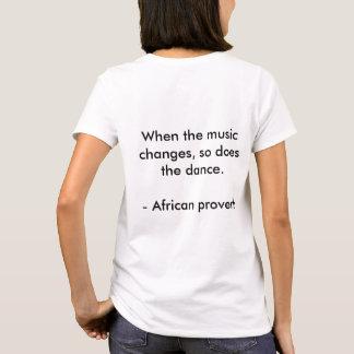 African Proverb Women's Shirt
