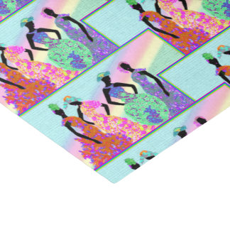 African Rainbow Parade Tissue Paper