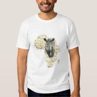 AFRICAN RINO SHIRTS
