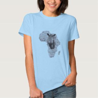AFRICAN RINO TEE SHIRT