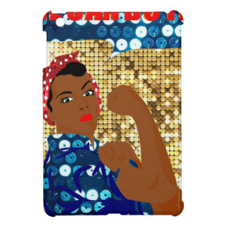 african rosie the riveter case for the iPad mini