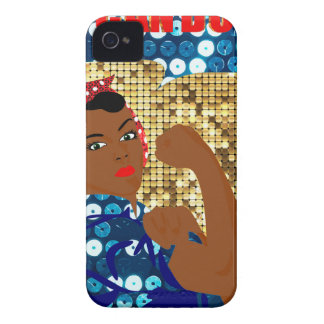 african rosie the riveter Case-Mate iPhone 4 case