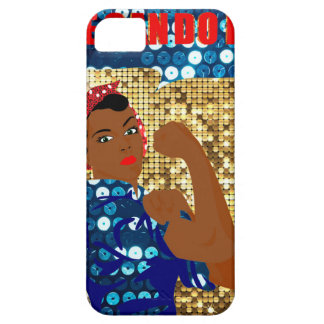 african rosie the riveter iPhone 5 case