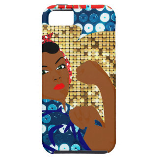 african rosie the riveter iPhone 5 covers