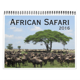 african safari 2016 calendar