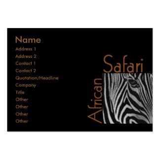 African Safari Business Card