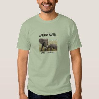 AFRICAN SAFARI - ELEPHANT T-SHIRTS