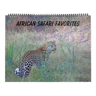 AFRICAN SAFARI FAVORITES CALENDAR