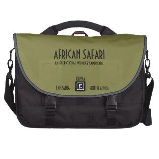 African Safari gears & Laptop Commuter Bag