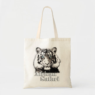 African safari grocery bag.