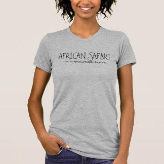 African Safari Heather Blue Top T-shirts
