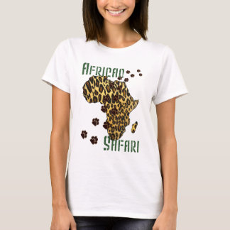 African Safari Leopard print Summer tops