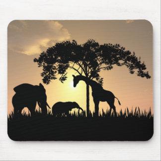 African safari mousepad