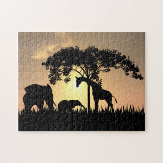African  Safari Puzzle