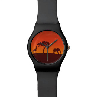 African Safari Silhouette - May28th Watch