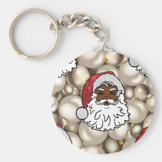 african santa claus key ring