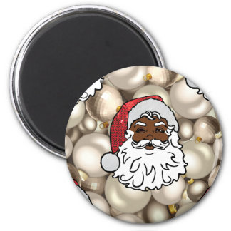 african santa claus magnet