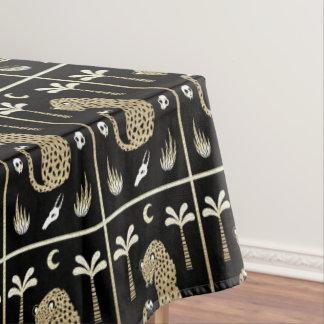 African Style Folk Art Tablecloth