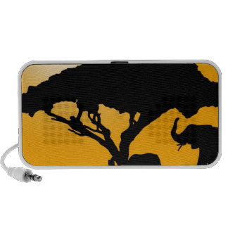 African Style iPhone Speakers