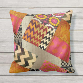 African Summer Jazz Cushion
