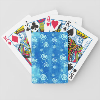 African Sun Bicycle Playing Cards