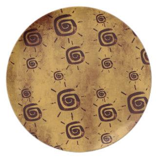 African Sun Plate