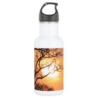 African Sunset - At the end of the day 532 Ml Water Bottle