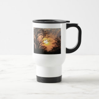 African Sunset - At the end of the day Stainless Steel Travel Mug