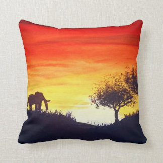 African Sunset cushion cotton