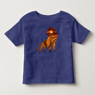 african sunset lion toddler T-Shirt