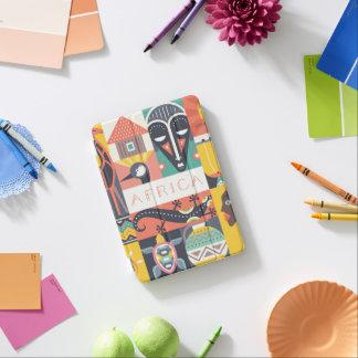 African Symbolic Art Collage iPad Mini Cover