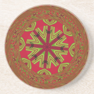 African Traditional Design Coaster