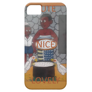 African traditional homestead cute nice lovely col case for the iPhone 5