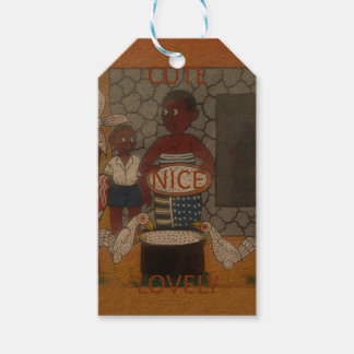 African traditional homestead cute nice lovely col gift tags