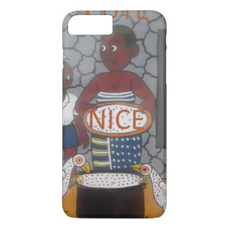 African traditional homestead cute nice lovely col iPhone 8 plus/7 plus case