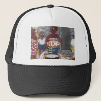 African traditional homestead cute nice lovely col trucker hat