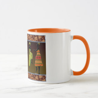 African Tribal Foot Stomp Mug