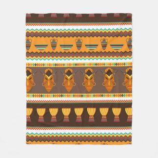 African Tribal pattern home decor Fleece Blanket