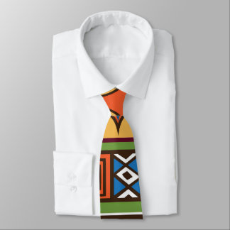 African Tribal patternfun tie
