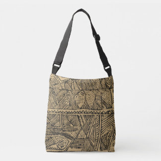 African Tribal Print Tote Bag