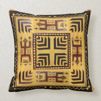 African Tribal Spirits Throw Pillow