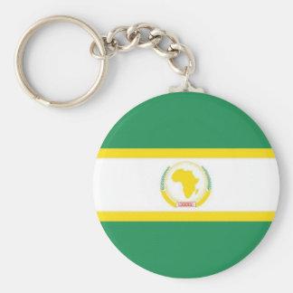 African Union Flag Key Ring